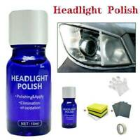 AU_Auto Headlight Lens Restoration Kit Lamp Car Repair Polish Cleaner Tools