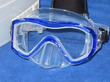 Oceanic Ion 3 scuba divng and snorkeling Mask with Neo strap - Blue/Clear