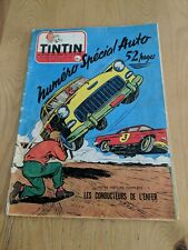 1956 FRENCH TINTIN COMIC CAR SPECIAL AUTOMOBILE VESPA SCOOTER DINKY TOYS