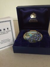 "Halcyon Days Enamel Trinket Box ""2000 The Year to Remember"" In Box!"