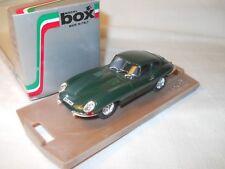 Jaguar Type E coupé 1962 vert anglais green - Box 1/43