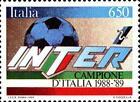 # ITALIA ITALY - 1989 - Inter Winner - Sport Calcio Soccer Football Stamp MNH