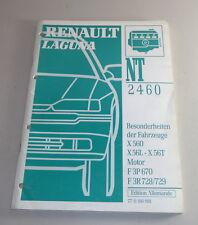 Manual de Taller Renault Laguna X 56 Características Especiales X560 X56L
