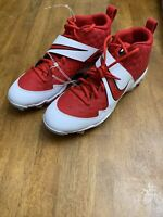 Nike Force Zoom Trout 6 Fastflex Baseball Cleats Red NEW AT3440-600 Size 11.5