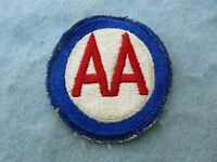 WWII Army Anti Aircraft Command Patch Embroidered Insignia WW2