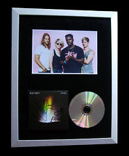 BLOC PARTY+SIGNED+FRAMED+HYMNS+LOVE+NEWS+ALARM=100% AUTHENTIC+FAST GLOBAL SHIP