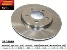 Disc Brake Rotor-Standard Brake Rotor Front GP53019 fits 2004 Chrysler Pacifica