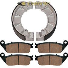 FRONT BRAKE PADS & REAR BRAKE SHOES Fits Honda VF750C VF750C2 MAGNA 750 97-03