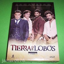 TIERRA DE LOBOS TERCERA TEMPORADA PRIMERA PARTE PACK NUEVO Y PRECINTADO DVD