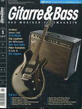 Gitarre und Bass # Januar 2007 -FENDER SUPER SONIC- Incubus, James Last,...