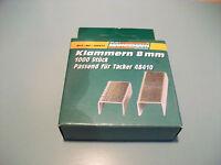 Mannesmann Staples 1000 pcs. Set <> 8mm Tacker Staples VPA GS TUV