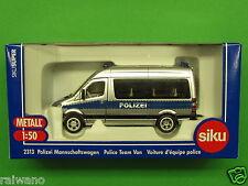 1:50 Siku Super 2313 Polizei Mannschaftswagen Blitzversand per DHL-Paket