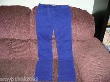 Aeropostale Bayla Skinny Purple Jeans Size 3/4 Women's  EUC