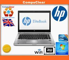 "HP Elitebook 8470p 14"" laptop, intel i5 2.6Ghz, 4Gb RAM, 500Gb HDD, Win 7 Pro,"