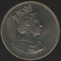 2002 Elizabeth II Five Pounds Coin | British Coins | Pennies2Pounds
