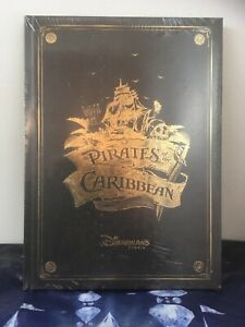 Disneyland Paris Pirates Of The Caribbean ☠️ Ride Attraction Book New & Sealed..