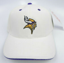 MINNESOTA VIKINGS WHITE NFL AMERICAN NEEDLE VINTAGE SNAPBACK RETRO CAP HAT NWT!