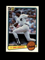 1983 Donruss Baseball #409 Dave Winfield (Yankees) NM-MT