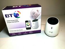 BT Smart Audio Baby Monitor Works with iPhone, iPad, iPod Touch