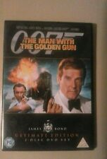 The Man With The Golden Gun (DVD, 2-Disc ultimate edition)  new - not sealed.