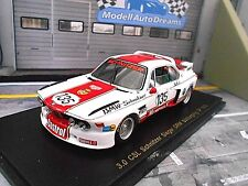 BMW 3.0 CSL DRM Schnitzer 1975 GP Nürburgring Memphis #135 Krebs Spark 1:43
