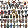 Avengers Minifigures 250+ Marvel DC Thor Infinity War End Game Super Heroes Iron