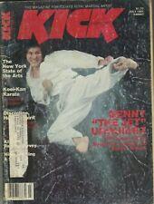 "KICK Magazine July 1981 7/81 MARTIAL ARTS BENNY ""THE JET"" URQUIDEZ"