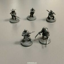 5pcs Heroes for Miniatures Dungeons & Dragons D&D Board Game figure