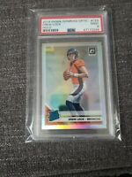 2019 Donruss Optic Drew Lock Holo Rated Rookie PSA 9 MINT Broncos