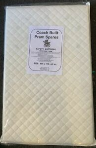 Safety Mattress for TUTTI Bambini CoZee Bedside Crib - Zip Cover -MADE IN THE UK