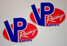 """2 4"""" Nascar NHRA VP Racing Fuels Sticker Set New NOS"""
