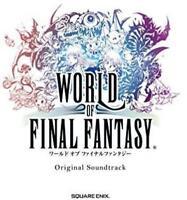 WORLD OF FINAL FANTASY Original Soundtrack 4CD Game Music from Japan*