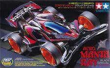 TAMIYA MINI 4WD AERO MANTA RAY BLACK SPECIAL (AR CHASSIS) KIT 1/32 - ITEM 95419