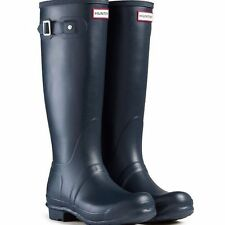 Hunter Patternless Rubber Boots for Women