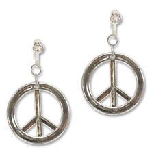 Ohrringe Hippie Peace, mit Clip