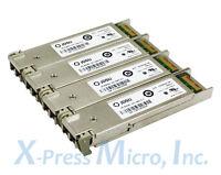 **LOT OF 4** JDSU 10GBASE-SR 10Gbe FC XFP TRANSCEIVER PLRXXL-SC-S43-C1