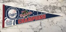 LOS ANGELES DODGERS 1988 WORLD SERIES CHAMPIONS PENNANT