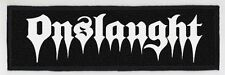 ONSLAUGHT SUPERSTRIP PATCH / SPEED-THRASH-BLACK-DEATH METAL