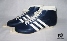 Vintage Retro Adidas CRYSTAL Ski Boots Shoes Cross Country Made in France 80s 8