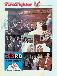 International Firefighter Magazine September 1976 Jerry Lewis Labor Day Telethon