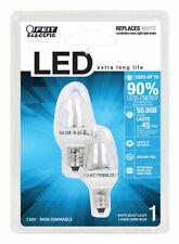 FEIT Electric  1 watts C7  LED Bulb  White  Nightlight  2 Watt Equivalence