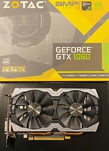 ZOTAC GeForce GTX 1060 AMP! Edition 6GB GDDR5 Graphics Card  - USED