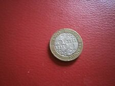 Two Pound Coin. Act of Union. Issued 2007. circulated.