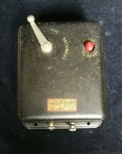 HORNBY DUBLO SPEED CONTROLLER vintage untested