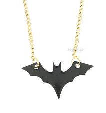 Retro Kitsch Batman Bat Pendant Costume Jewellery Necklace