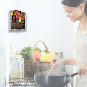 Kitchen Wall Mount,Universal Holder for Tablets and Smartphones eReader - iPad