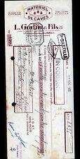 """PARIS (XII°) MATERIEL pour CAVISTE """"L. GODIN & Fils"""" en 1951"""