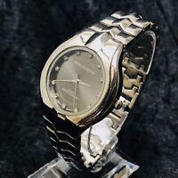 Gents Swiss Marquise Quartz Watch New Battery Stylish Designer Watch