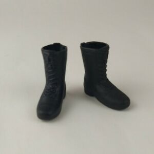 """1/6 Scale Black Boots For Most 12"""" Action Figures GI Joe DID BBI 21st Century"""