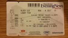 SHAKIRA IN CONCERT 2010 USED TICKET